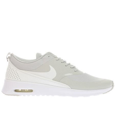 womens nike beige air max thea trainers