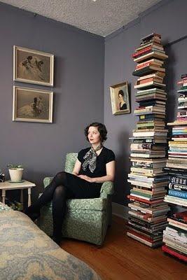 who needs a bookshelf?