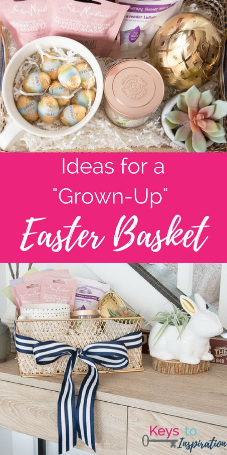 Best 25 easter gift for adults ideas on pinterest easter crafts great ideas for a grown up easter basket easter ideas for adults this basket negle Gallery