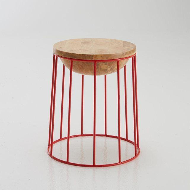 """Le tabouret """"belly stool"""" de Dan Yeffet pour BENSIMON- Plus de codes promo chez www.cuponation.fr"""