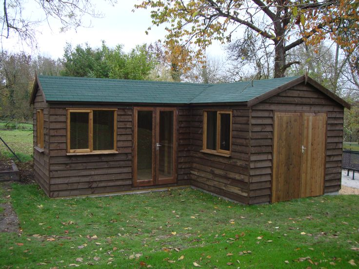 20 best images about building tiny houses cabins on for Very small garden sheds
