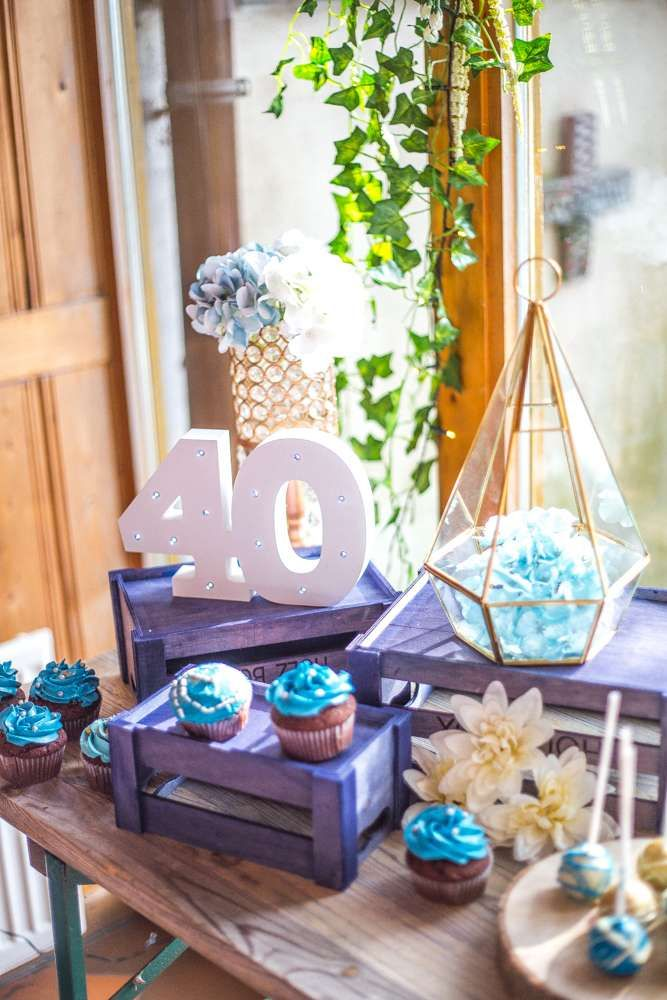 Denim Birthday Party Ideas 40th Birthday Themes 40th Birthday