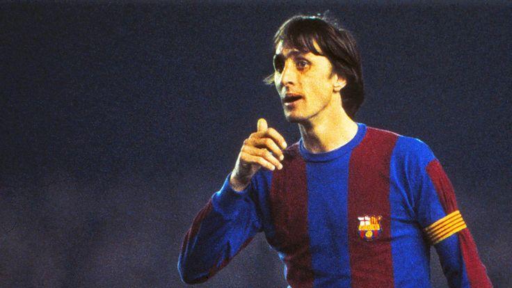 Johan Cruyff (25.04.1947 - 24.03.2016) ist tot - er hinterlässt ein gewaltiges sportliches Erbe. Cruyff prägte Ajax Amsterdam, die niederländische Nationalmannschaft und vor allem den FC Barcelona.