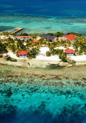 Belizean Island Resort... I wanna be there right now!