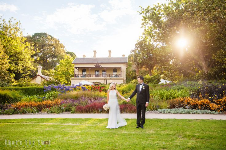 Wedding at Melbourne Botanical Gardens