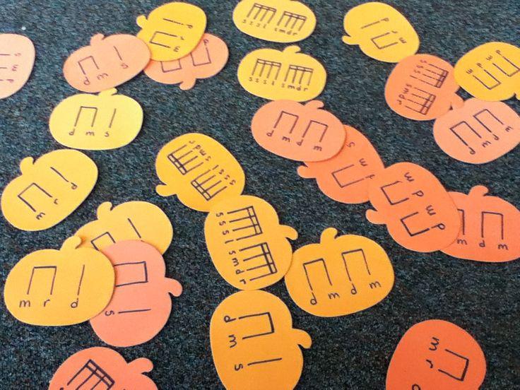 Pumpkin, Pumpkin Extension Activity includes sheet music