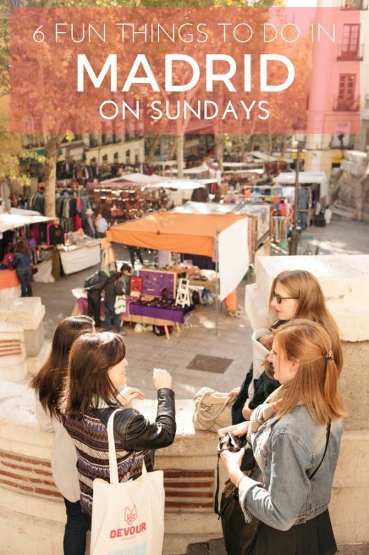 Sundays in Madrid mean plenty of sunshine, tapas and museum visits!
