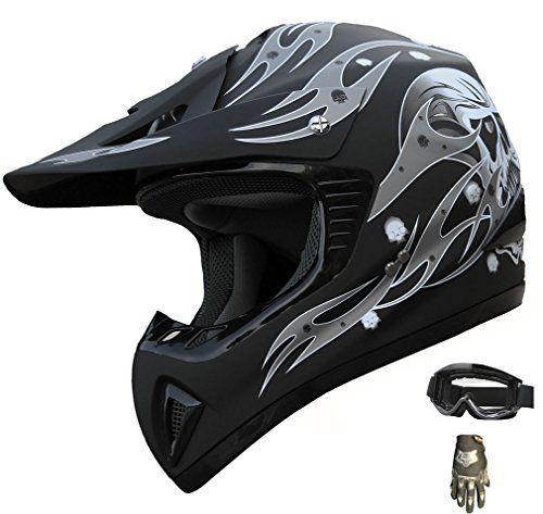 ATV Motocross Helmet Dirt Bike Motorcycle Matt Blackglovesgoggles A81 (XL) For Sale https://motorcyclejacketsusa.info/atv-motocross-helmet-dirt-bike-motorcycle-matt-blackglovesgoggles-a81-xl-for-sale/