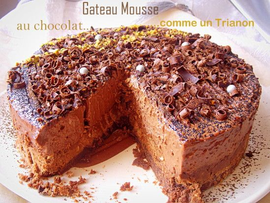138 best images about tout chocolat on pinterest - Mousse au chocolat a la creme ...