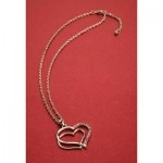Double Heart Necklace @ just $19.95 only.