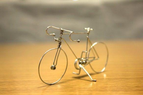 針金の自転車 (ドロップハンドルタイプ)