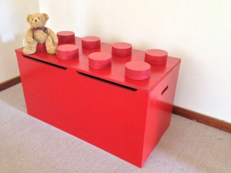 Large New Wooden Storage Box Diy Crates Toy Boxes Set: 12 Best Images About LEGO DUPLO MEGA BLOKS, BLOCKS On