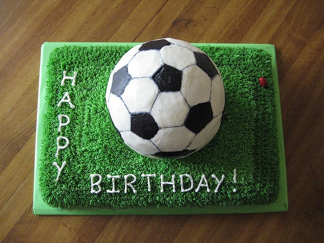 Cake With Ball Design : 1000+ images about Soccer Party on Pinterest