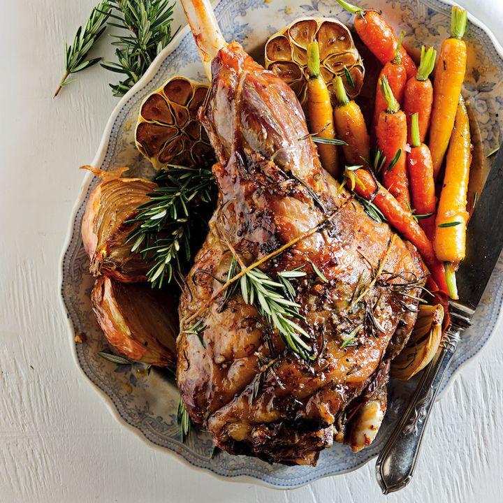 Pistachio and rosemary leg of lamb - MyKitchen