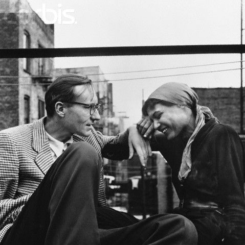 William S. Burroughs & Alene Lee: Beats Generation, Allen Ginsburg, 1953, Mardou Foxes, Alen Lee, Williams Burroughs, Apartment Building, Beats Writers, All Ginsberg