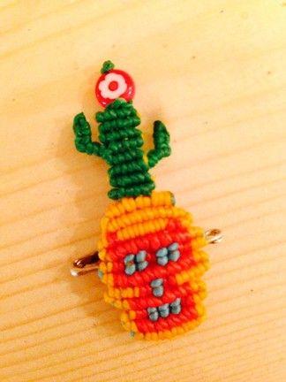 I bearded cactus to Rucha mask
