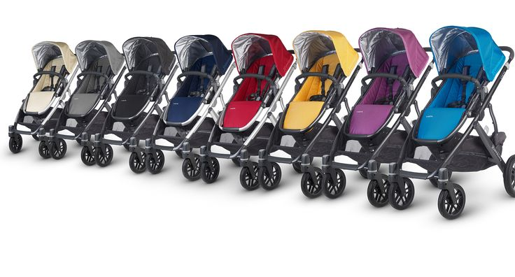Uppa baby vista- I have the Cruz but this is the one I should have gotten. They are very similar except with the vista you can add an attachment to turn it into a double stroller. Would have saved us hundreds of dollars. Also I think as far as strollers go they are relatively attractive. Mine is black.