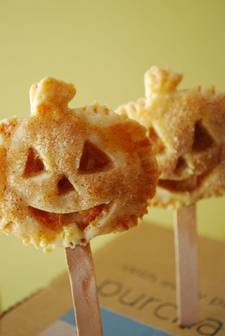 Pumpkin pie on a stick by Domestic Rebel