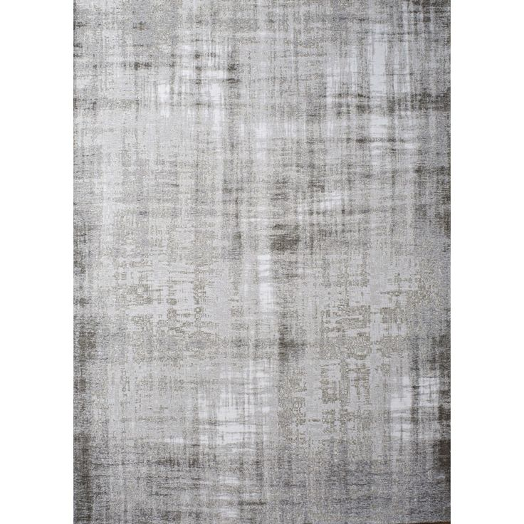 Grunge Silver Patchwork PS5 Rug An elegant weathered patchwork design using a faded colour palette of light grey and beige.
