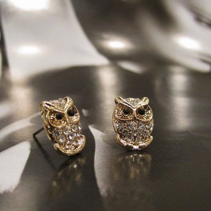 I love Owls so had to share these Owl Earrings.