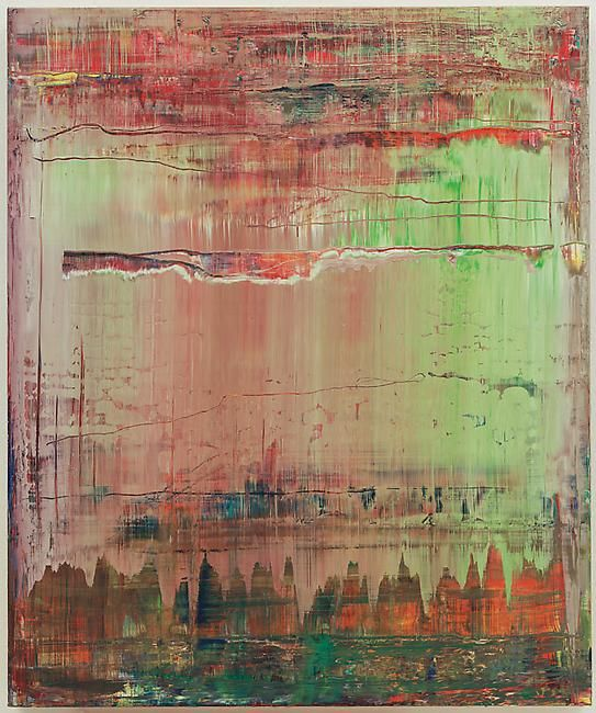 Gerhard Richter,  Abstract Painting(908-9), 2009