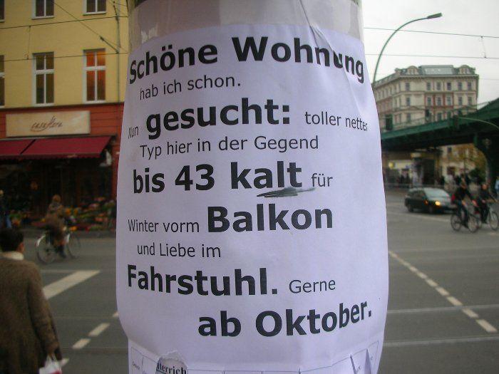 GESUCHT in Berlin Prenzlauer Berg: toller netter Typ!!!