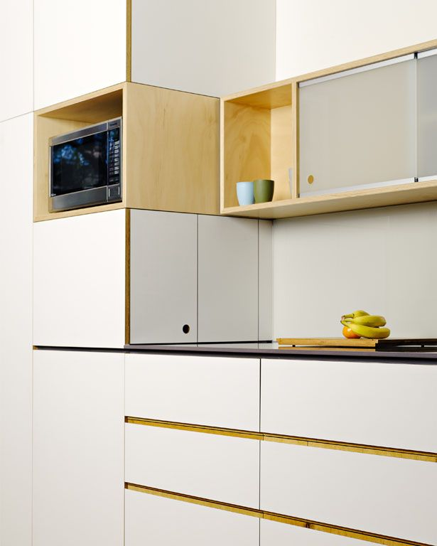 Kitchen Design Melbourne: This Cantilever Kitchen Design Makes The Most Of The High