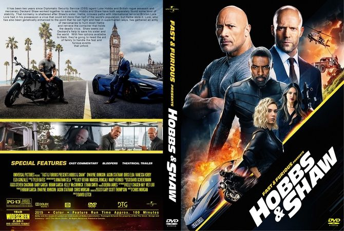 Fast Furious Presents Hobbs Shaw 2019 Dvd Custom Cover Fast And Furious Dvd Cover Design Be With You Movie
