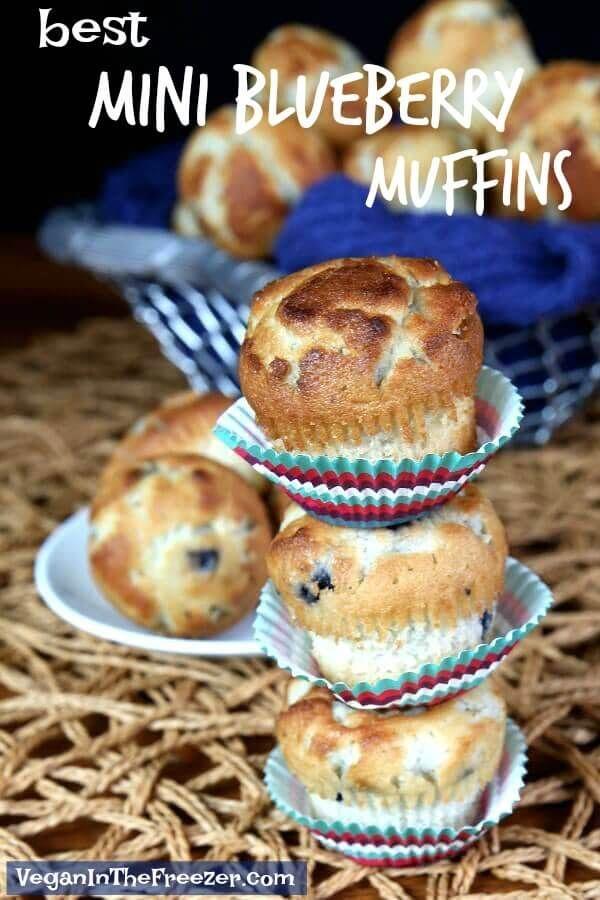 Best Mini Blueberry Muffins Recipe Clean Eating Vegan