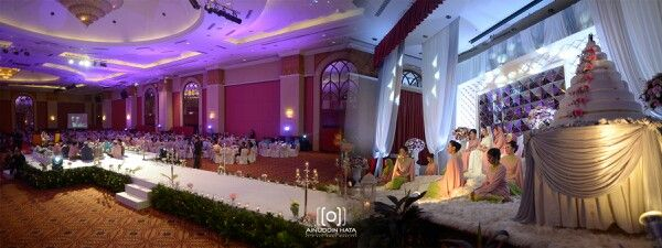 Nikah ceremony . Decoration by KS Entourage | photo by Ainuddin Hata |