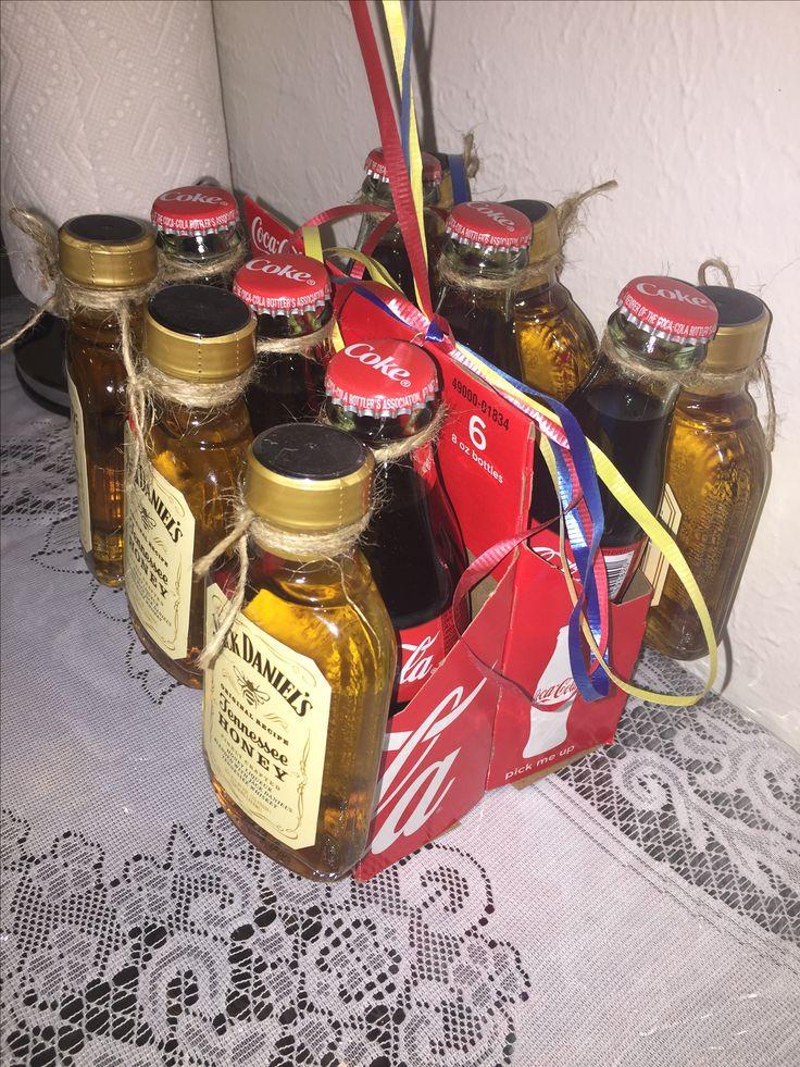 Gift idea Coca Cola + Honey Jack Daniels