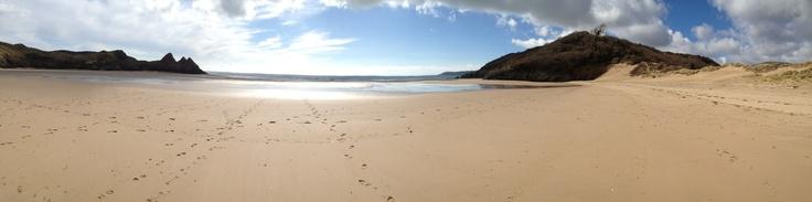Three Cliffs Bay, Gower Peninsula (Swansea, Wales, UK)