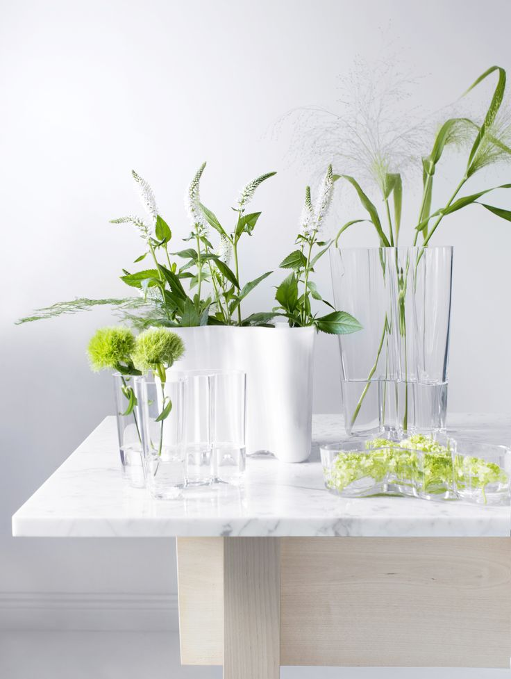The Iittala Alvar Aalto collection. Shop the Iittala Sale: Save 20% Through November 29th! Free shipping on orders of $150 or more within the Continental US. http://ss1.us/a/RJB2gGFD #Kiitoslife #Kiitoslifenyc #Iittala #AlvarAalto #Vase #Sale #Iittalasale