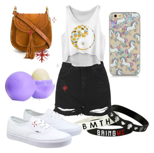 """""""Lazy Girl"""" by just-teriv on Polyvore featuring Topshop, Vans, Chloé and Eos"""