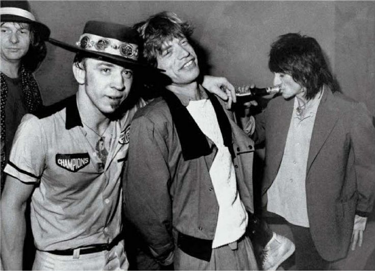 Tommy Shannon Stevie Ray Vaughan And The Rolling Stones
