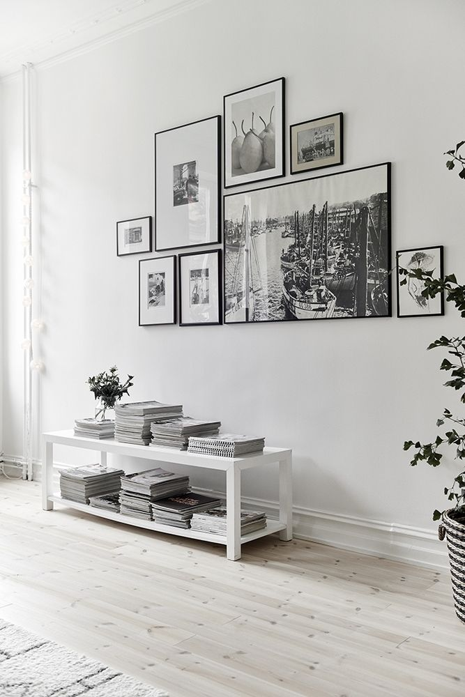 A collection of cohesive prints comes together as one in this beautiful gallery.