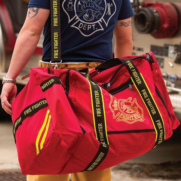 Firefighting Gear Bags For Equipment, Bunker Gear and Station Wear