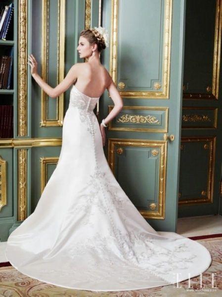 https://flic.kr/p/BDUa1m   Trouwjurken   Wedding Dress, Wedding Dress Lace, Wedding Dress Strapless   www.popo-shoes.nl