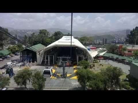 TARDE EN EL AVILA SUBIENDO EN EL TELEFERICO - YouTube