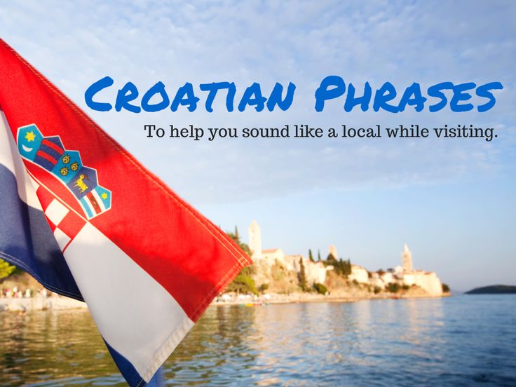Lets learn Croatian: Part 1 of some basic Croatian phrases that will help you sound like a local while on holidays in Croatia.