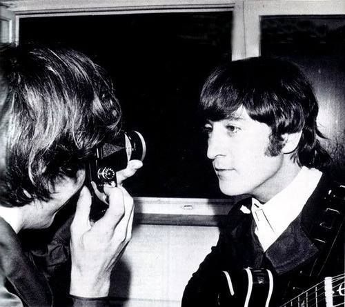 George snapping John