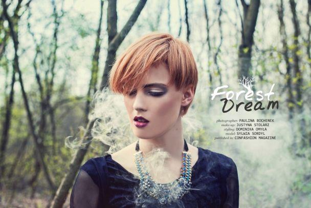 "Paulina Bochenek: ""Forest Dream"" http://www.confashionmag.pl/webitorial/forest-dream.html"