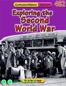 Lower KS2 textbook on WW2.