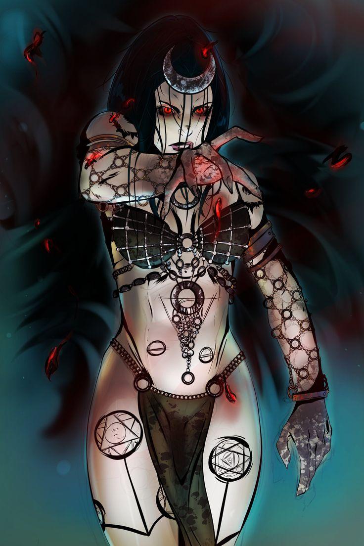 Enchantress - Suicide Squad (Blue BG ver.) by Diemorra