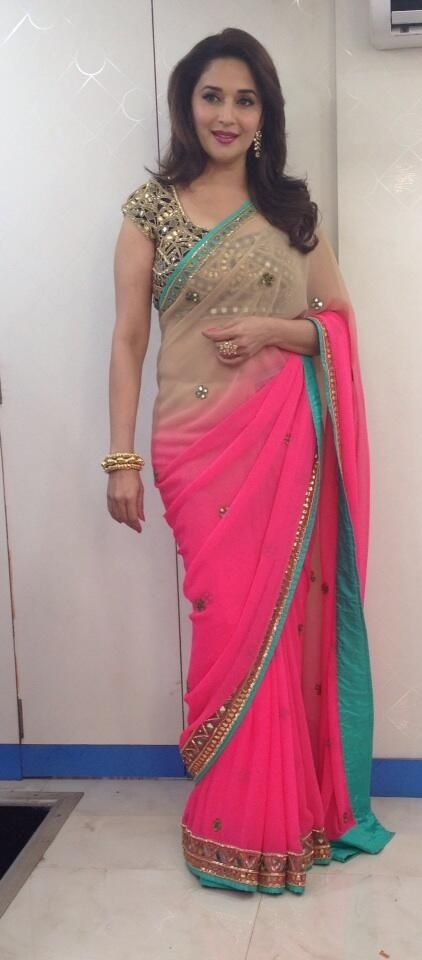 Saree colors makes her look gorgeous!