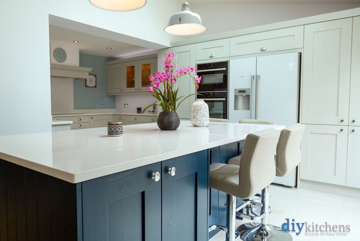 Best An Innova Norton Dove Grey Shaker Kitchen Cheap Kitchen 400 x 300