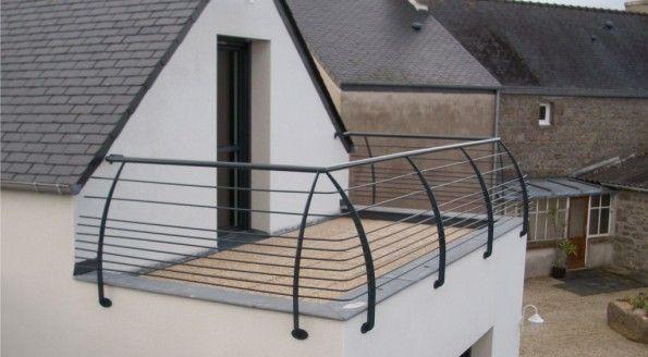 Garde corps pour terrasse
