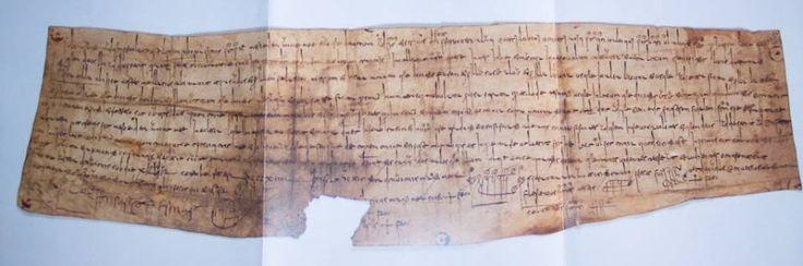 EL DIPLOMA DEL REY SILO, fechado en el año 775, es el documento más antiguo del reino de Asturias y el más antiguo conocido en España. Poe este diploma, el rey Silo, a título privado y no como monarca, dona a unas religiosas varias propiedades que poseía en la parte oriental de Lugo, entre los ríos Eo y Masma, para fundar un monasterio. Está escrito sobre pergamino en letra cursiva visigótica y se encuentra en el archivo de la Catedral de León.