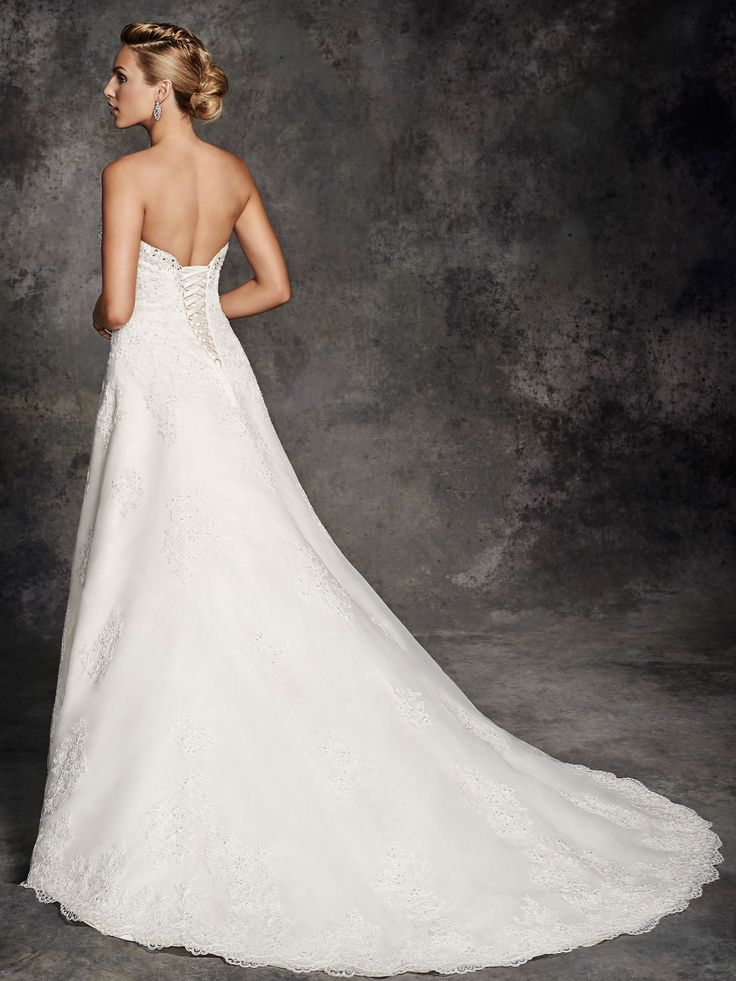 Style be255 bridal gowns wedding dresses ella for Private label wedding dresses