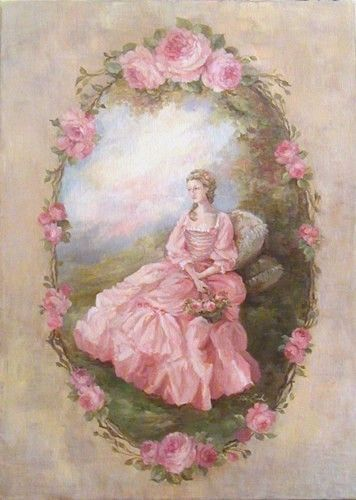Shabby chic paintings debi coules shabby french chic art - Cuadros shabby chic ...